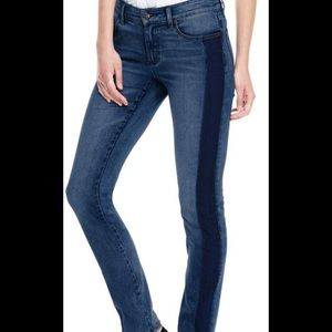 Lands' End Not Too Low Rise Slim Jeans Sz 18 NWT